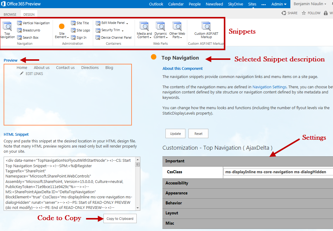 SharePoint Design Manager Convert HTML To Master Page - Sharepoint design manager