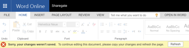 Sorry, your changes weren't saved. To continue editing this document, please copy your changes and refresh the page.
